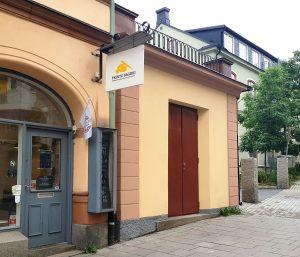 Telge fastigheter, Studio Vinterhav, transformatorkiosk