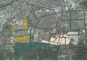Innovativ stadsdel vid universitscampus i Örebro