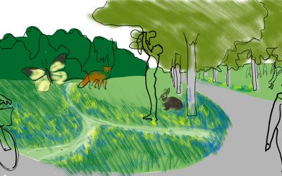 Inåtgående grön våg